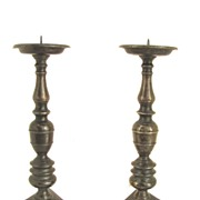 Spanish 17th Century Candle Sticks