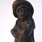Cast Iron Figure of a Pick Pocket Turn of the Century