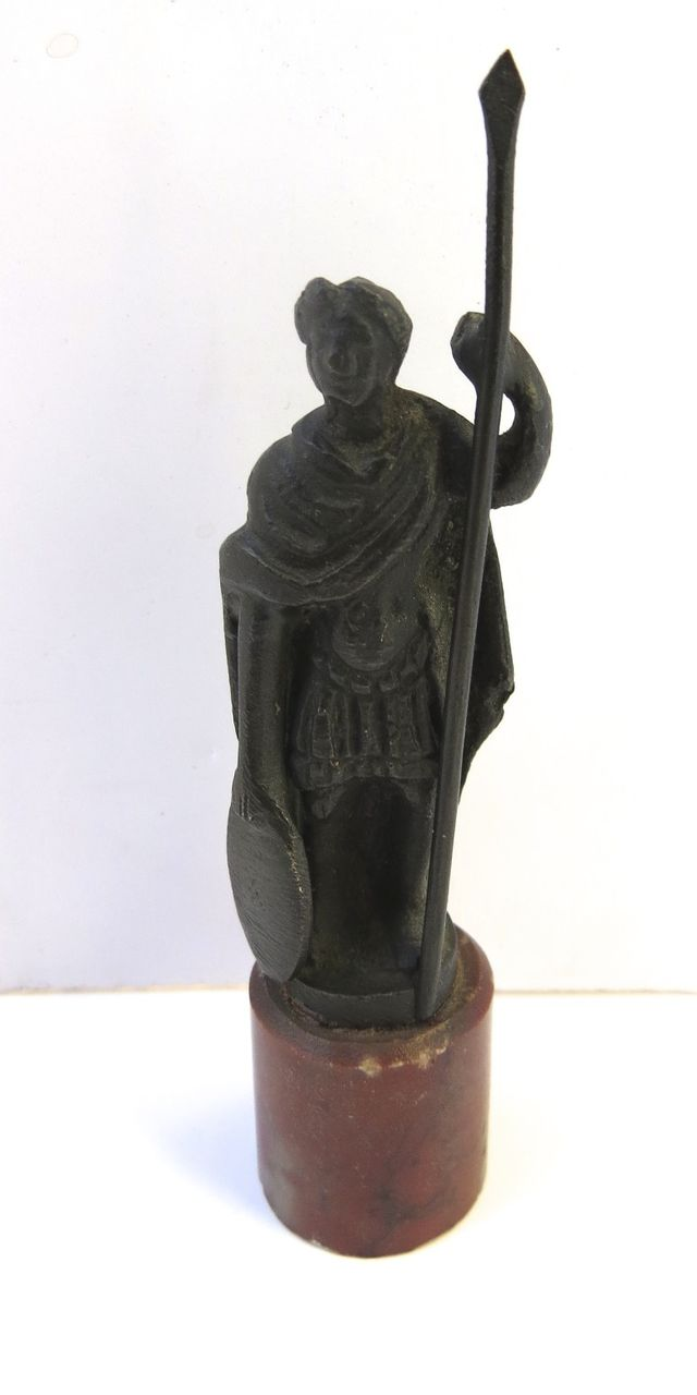Miniature Bronze on Marble Base
