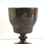 English Copper Luster Goblet