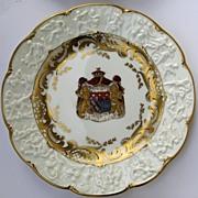 Set of 12 Capodimonte Plates
