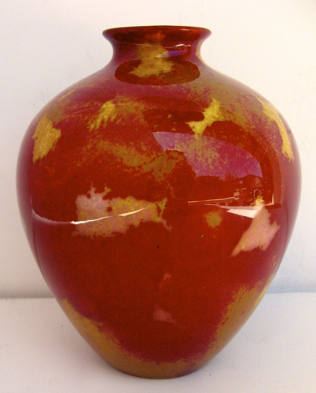 Royal Doulton Flambe Vase Sung Shape