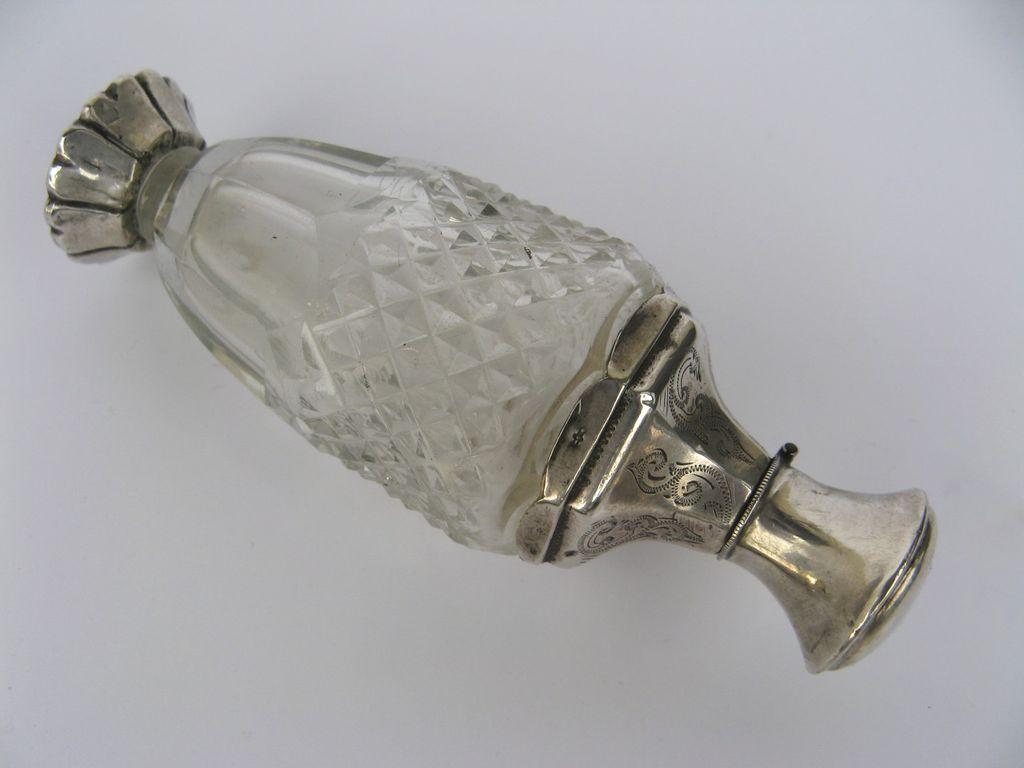 European Silver and Cut Glass Perfume