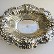 """Francis I Reed Barton Sterling Footed Bowl 12 1/2"""" by 10"""""""