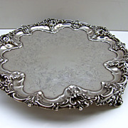 Sheffield Fused Plate Salver