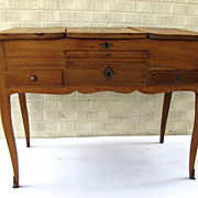 Country French Fruitwood Dressing Table