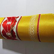 Vintage Japanese Kimono Obi Fabric on Roll
