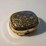 Damasquidano de Oro, Toledo, Spain Miniature Pill Box