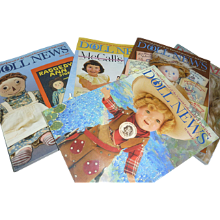 5 issues of Doll News