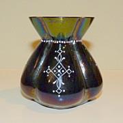 Small Iridescent Lobmeyr glass vase