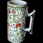 *Reduced 20% ~Ikaros Greek  Handmade Pottery Vase/Mug