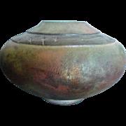 *Reduced ~Hand Created Raku Pottery Vase by Lois Gress-Neal