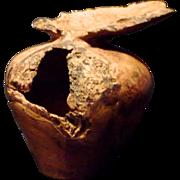 Knud Oland 1991 Old Wood Turned Vase