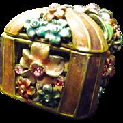 Rucinni Trunk Swarovski Trinket Box