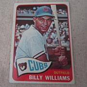 Vintage 1965 Topps Baseball Card Billy Williams