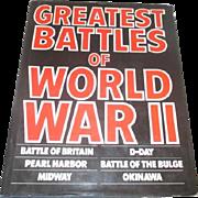 Greatest Battles of World War II