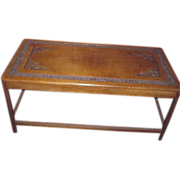 Hand Carved Teak Wood Coffee Table