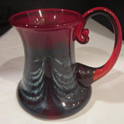 Vintage Blown Glass Mug