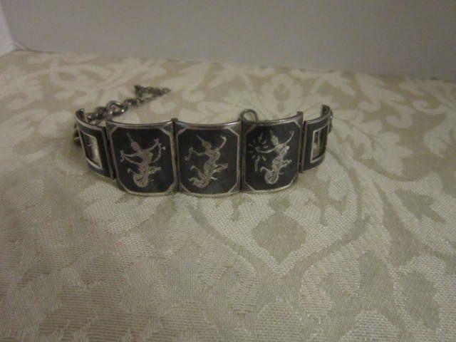 Vintage Niello Siam Men's bracelet