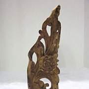 Antique Wood Architectural Piece