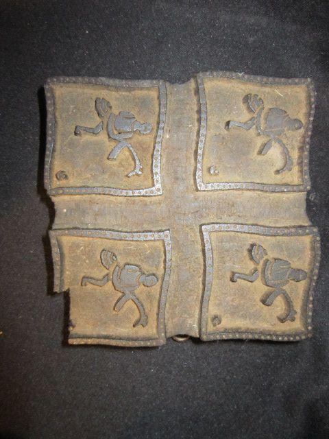 Vintage Wood Stamp (4 Square)