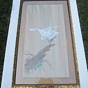 """Vintage """"Heron"""" Print"""