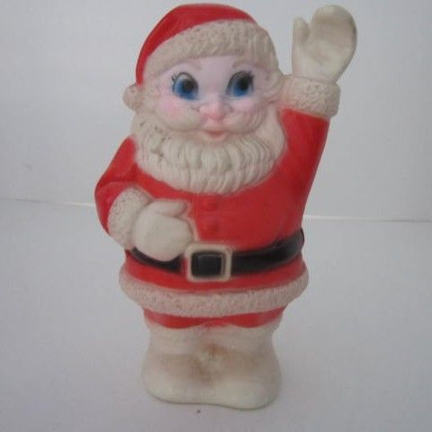 Waving Santa Squeaker Toy