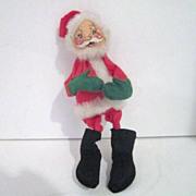Vintage Christmas Annalee Mobilitee Doll Santa 1963