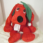 "Vintage ""Clifford"" Stuffed Toy"