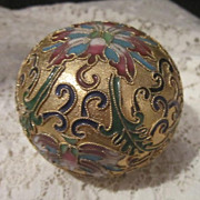 Vintage Champleve/Cloisonne Paper Weight