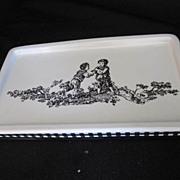 Vintage Waverly Ceramic Tray