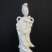 White Blanc de Chin Ceramic Quan Yen