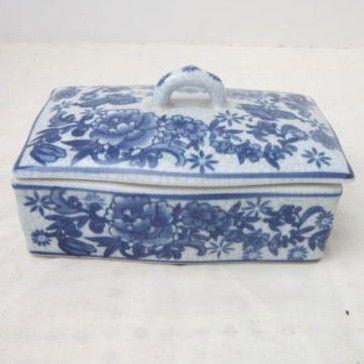 Vintage Ceramic Box with Lid