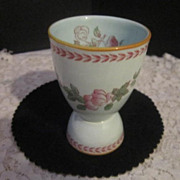 Vintage Porcelain Egg Cup by Adams from England