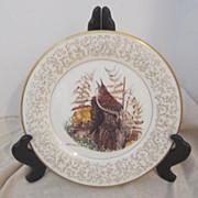 Vintage Don Whitlatch Gorham Limited Edition Decorator Plate House Wren