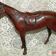 Cast Metal Horse Figurine