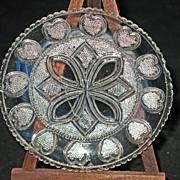 LR 459 Twelve Heart Cup Plate