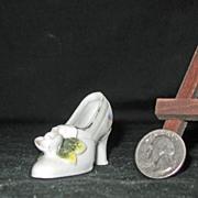 Miniature Porcelain High Heel Shoe