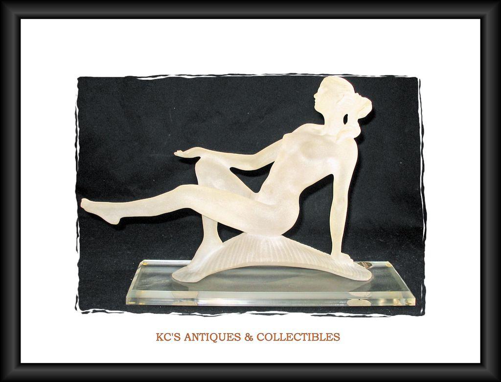 Monique Sculptures Acrylic Nude Woman Modern Art