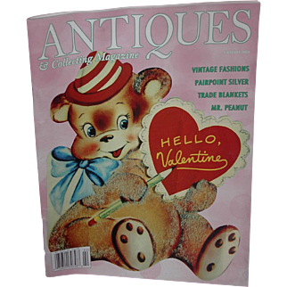SALE Antique and Collecting Magazine Featuring Valentine