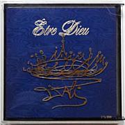 Salvador Dali 'Etre Dieu' Limited First Edition