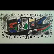"Joan Miro ""Star Scene"""