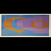 "Maud Morgan, ""S5"" Original Lithograph"
