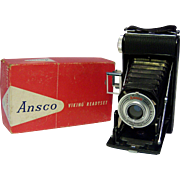 ANSCO Viking Readyset Folding Camera 1930's