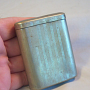Antique MARATHON U.S.A Cigarette Case Pat. 1912