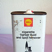 Shell Lighter Fluid & Spot Remover Tin 16 oz