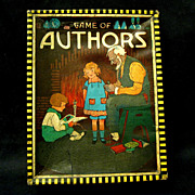 1915 Boxed Game of Authors, Russell Mfg. Co.