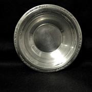 Courtship Sterling Bon Bon Bowl, International Silver