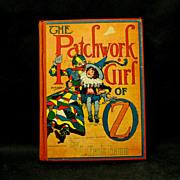 L. Frank Baum, Patchwork Girl of OZ, 1913, Reilley & Lee