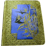 Victorian Scrapbook Given to Carl Grant by his Mama, 1885
